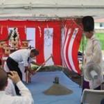 高澤真理事 「よしおかの里プロジェクト」 地鎮祭の参加レポート